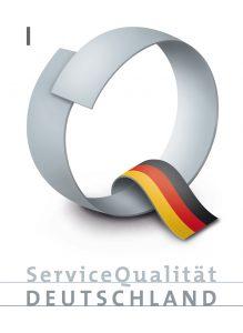 Logo Service Qualität